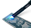 Counterfeit Money Detection Ultra Violet LED Aluminum Pen Light 879