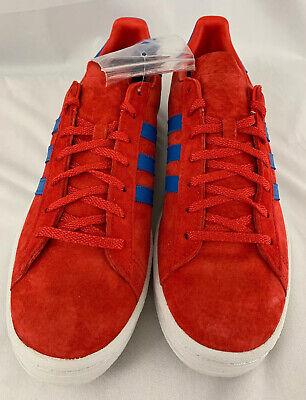 NIB Men's adidas Campus 80s Corene Red Pool Blue Stripes Shoes V22889 Size 11.5   eBay