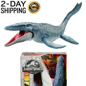 Mattel Jurassic World Real Feel Mosasaurus Figure NEW