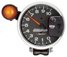 "autometer 233904  auto gage 10,000 rpm monster 5"" shift light tachometer new"