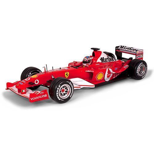 Mattel 1 18 2003 Ferrari F2003-GA Barrichello Marlbor
