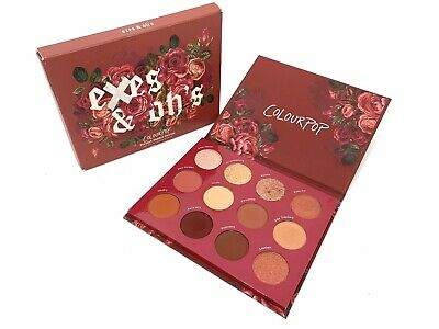 Exes & Oh's Pressed Powder Eyeshadow Palette by Colourpop #15