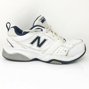 New-Balance-Mens-623-MX623WN2-White-Running-Shoes-Lace-Up-Low-Top-Size-9-4E