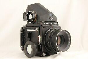 Eccellente-5-Mamiya-RB67-PRO-SEKOR-C-127mm-f-3-8-120-Filmback-dal-Giappone