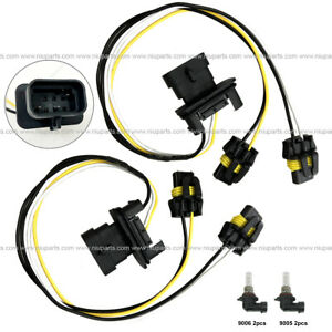 2pcs Wire Harness for High & Low Beam Headlight (Fit: Freightliner Columbia  M2 )   eBayeBay