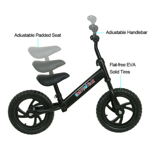Children Balance Bike 2-6 Years Kids Boys Girls Learn Running Bicycle 12 /'/' US