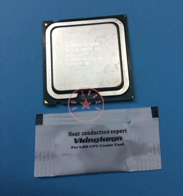 Intel Core 2 Duo E8600 SLB9L 3.33GHz Dual Core LGA 775 CPU Processor *km