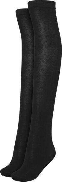 Urban Classics Damen Ladies Overknee Socks 2-Pack 36-39  40-42