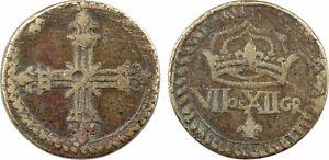 France-poids-monetaire-du-1-4-d-039-ecu-VII-DE-XII-G-23