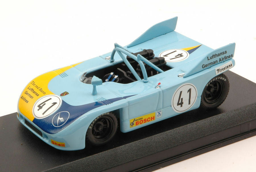 Porsche 908 03 nd Nurburgring Interserie 1972 R. Jost 1 43 Model