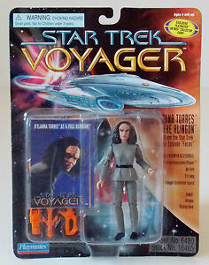Star-Trek-Voyager-B-039-Elanna-Torres-the-Klingon-Action-Figure