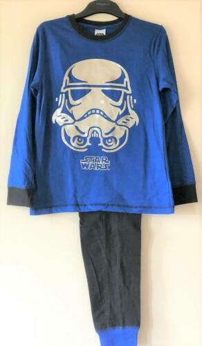 6-7Y Neuf Garçons Disney Star Wars FOIL Stormtrooper Pyjama Set Exstore paons