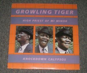 Growling-Tiger-Knockdown-Calypsos-High-Priest-Of-Mi-Minor-Insert-FAST-SHIPPING