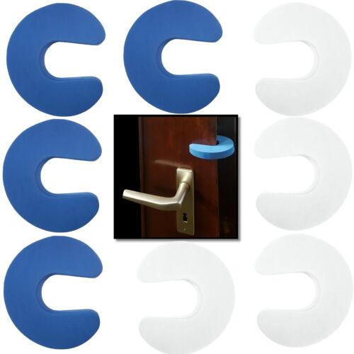 2-10 Stück Klemmschutz für Fenster und Türen Türstopper Fensterstopper Schutz