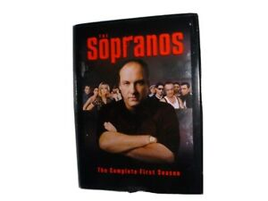 THE-SOPRANOS-DVD-THE-COMPLETE-FIRST-SEASON-4-Disc-Boxset-680-Minutes-EUC-HBO