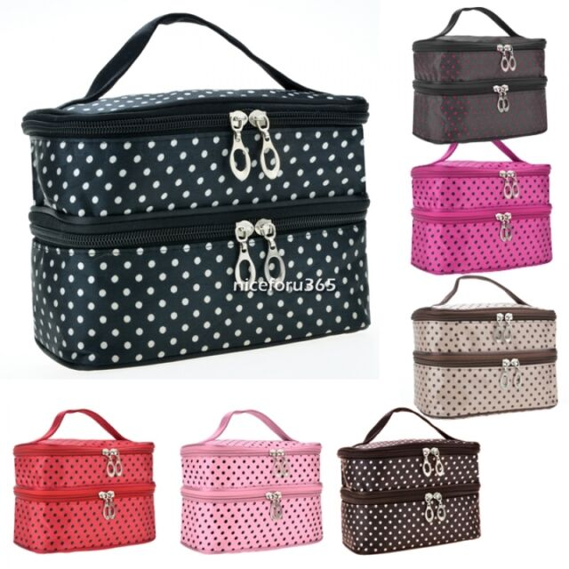 Multifunction Makeup Bag Cosmetic Case Travel Toiletry Zip Wash Organizer Pouch%