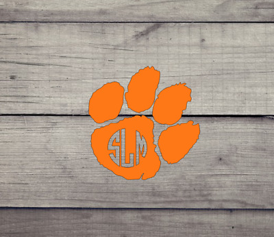Clemson Wordmark Decal Choose A Major Tigertown Graphics