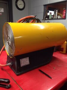 Space Heater, Gas, Dual Voltage Master