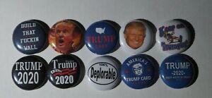 Pin-Lot-Trump-Kampagne-Praesident-Donald-Pins-Lots-1-Zoll-NEU-2020-pro-Taste