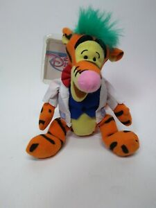"Disney Authentic Winnie the Pooh Tigger Plush Bean Bag Toy 9/"" Stuffed Animal"