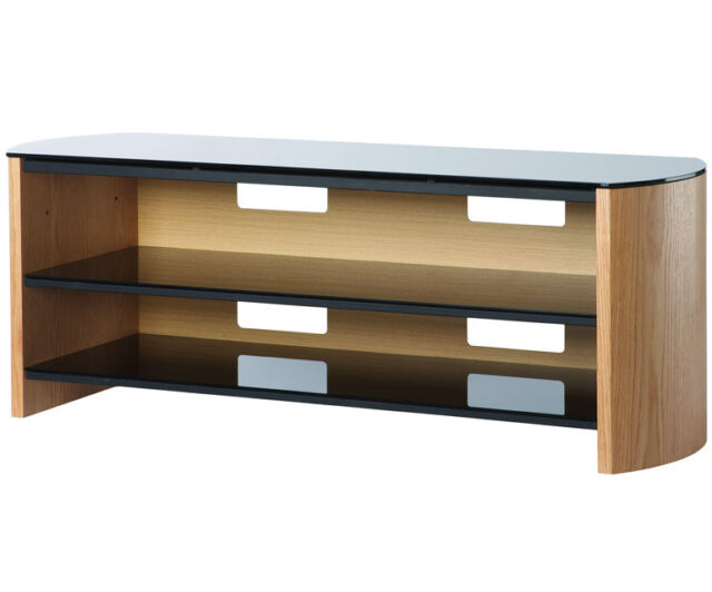 Alphason Finewoods Fw1350 Light Oak Tv Stand