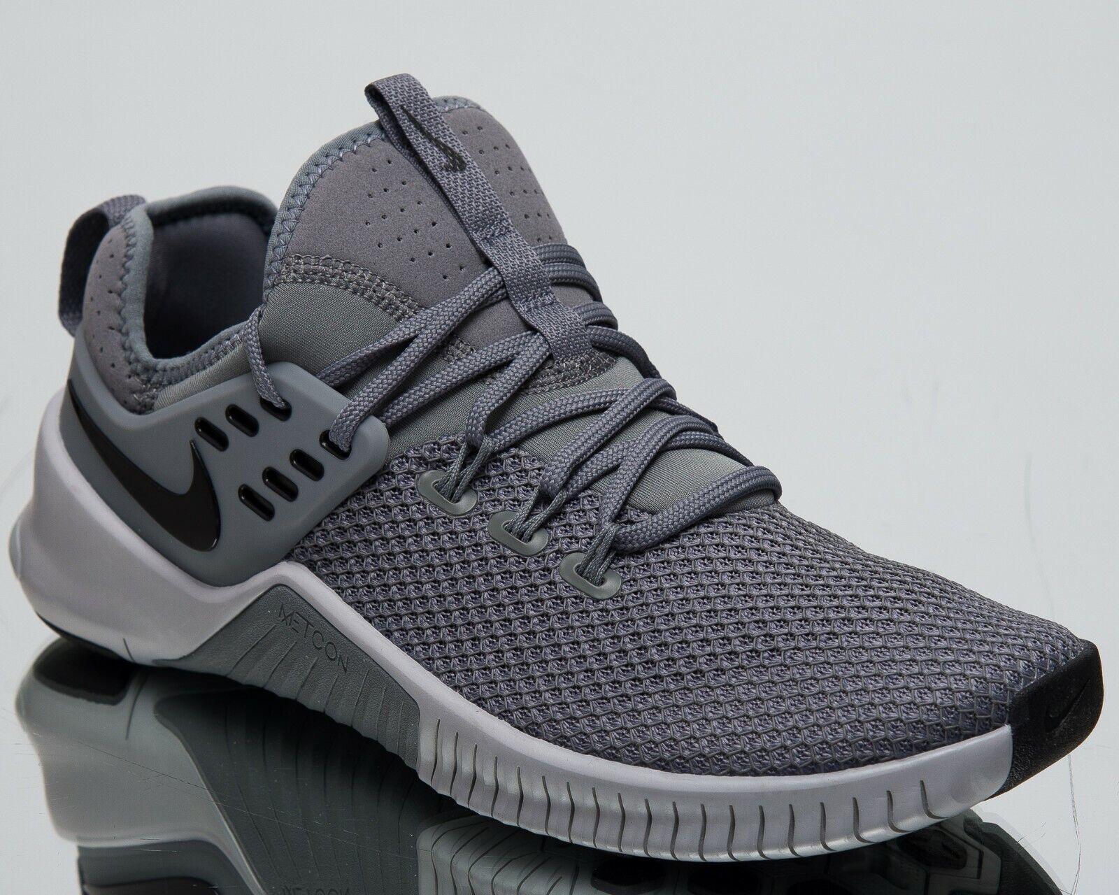 Nike Gratis X Metcon Neu Herren Turnschuhe Cool Grau Schwarz Turnschuhe AH8141-006      Deutschland Outlet