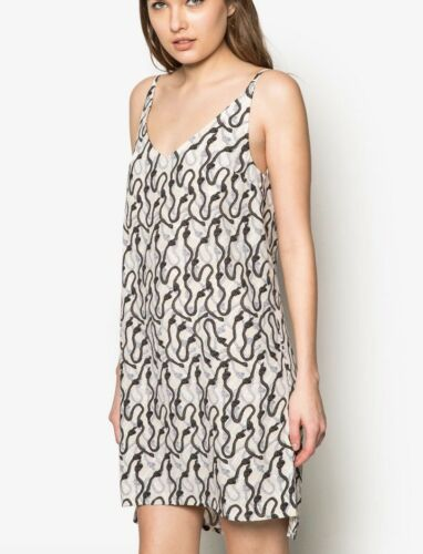 TOPSHOP robe print slip Summer Mini robe taille 6 To 12