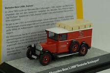 1929 mercedes-benz l1000 Imperio alemán post post 1:43 premium classixxs