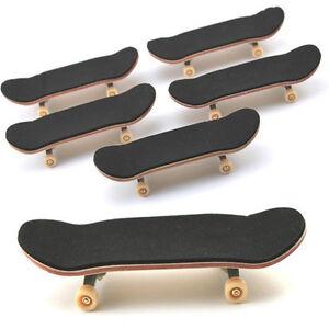 Lot-10PCS-Canadian-Maple-Wooden-Fingerboard-Skateboards-Foam-Tape-Deck-Sport-toy