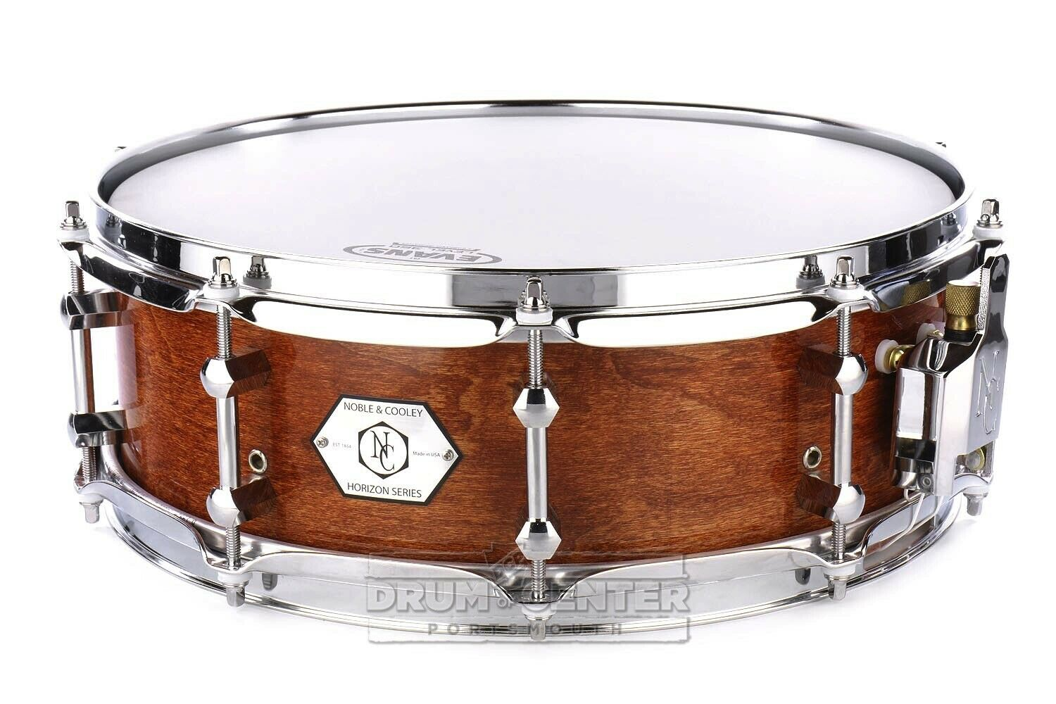 Noble And Cooley Horizon Snare Drum 14x4.75 Honey Maple Gloss