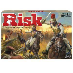 Risk - Juego de mesa - Hasbro Gaming  - 10 AÑOS+
