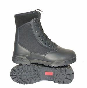 4a53e56201d Details about HITEC MAGNUM CLASSIC BOOTS BLACK HI TEC MILITARY POLICE ARMY  CADETS PARAMEDIC NA