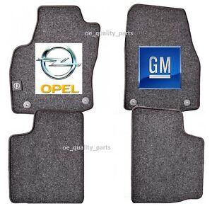 Original Genuine Gm Opel Astra H 4 X Floor Mat Mats Carpet