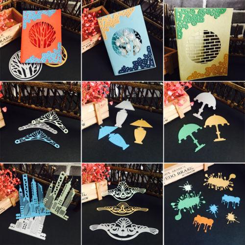 3D Metal Cutting Dies Stencil Scrapbook Paper Cards Craft Embossing DIY Die-Cut