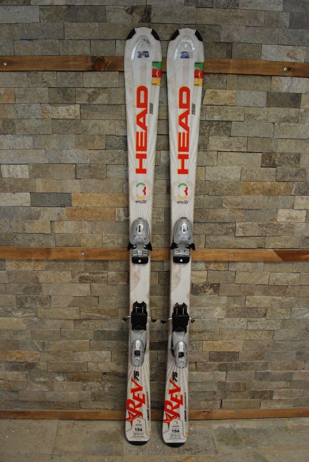 HEAD REV 75R 156 cm Ski + BRAND NEW NEW NEW Marker EPS Mod 9.0 Bindings d43ab1