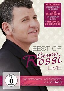 Semino-ROSSI-Best-Of-Live-2-DVD-NUOVO