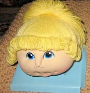 The Original Doll Baby Heads-Martha  Nelson Thomas 1984 Pig Tails