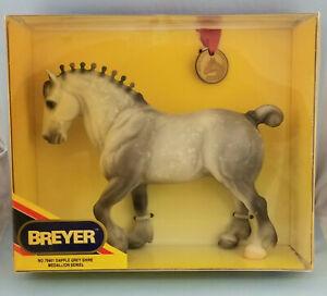 Breyer-79901-Dapple-Grey-Shire-Clydesdale-Stallion-SR-Model-Horse-NIB