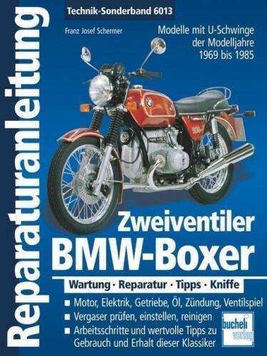 1 von 1 - Reparaturanleitnug BMW-Boxer Zweiventiler  1969-1985