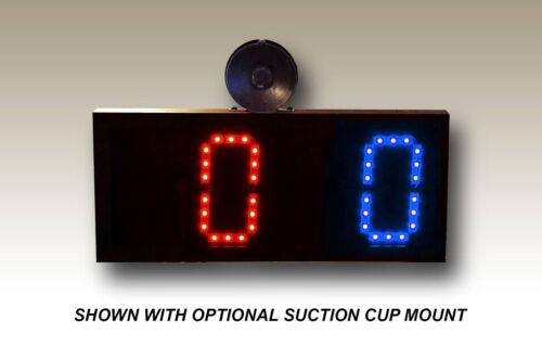 5 digits Remote Controlled Scoreboard Red//Blue