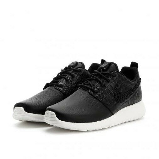 358dc842383a2 WMS Nike Roshe One LX Leather UK 6.5 EUR 40.5 Black White 881202 001 ...