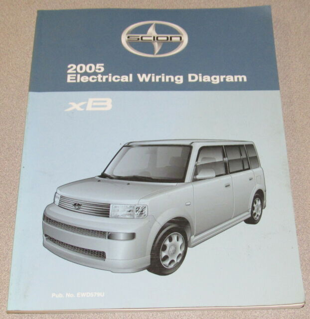 2005 Toyota Scion Xb Electrical Wiring Diagram Service