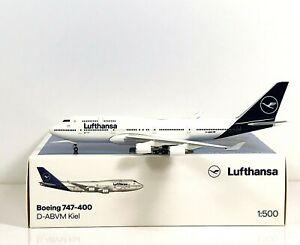 Herpa Wings 1:500 532761 Lufthansa Boeing 747-400 new 2018 colors Herpa Wings