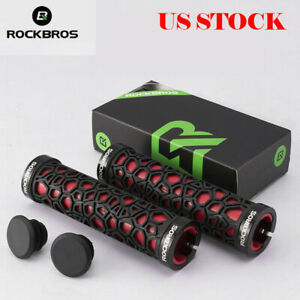 RockBros Double Lock-on Bicycle Handlebar Grips MTB BMX Fixed Gear Cycling Grips