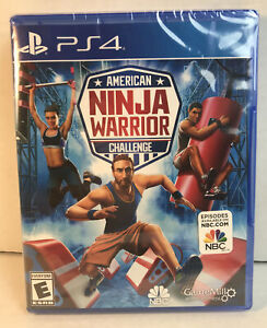 NEW - American Ninja Warrior PS4 (Sony PlayStation 4, 2019) Up to 4 players