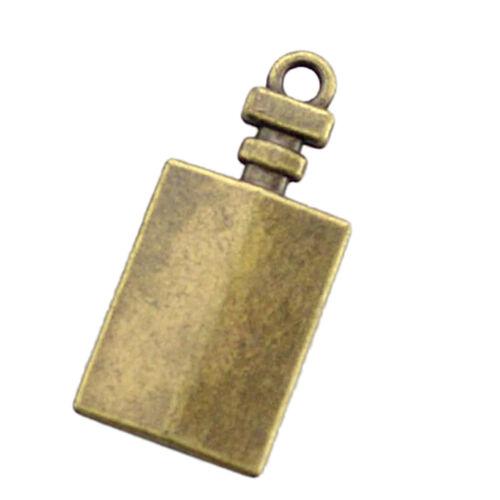10Pcs Antique Brass Charms Anhänger finden Schmuckherstellung DIY