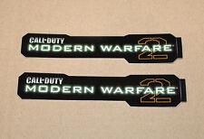 2x CALL OF DUTY COD MODERN WARFARE 2 Stickers / Aufkleber 2009 Xbox 360 PS3