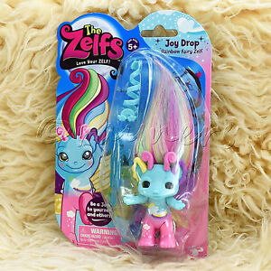 New | The Zelfs | Joy Drop Rainbow Fairy Zelf Medium Figure | Series 5 Zelf