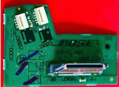 Tested Original Bose SoundDock Portable 30 Pin Connector Dock Board 303293-001