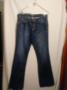 Lucky-Brand-Dungarees-Womens-Jeans-Blue-By-Gene-Montesano-Boot-Cut-Size-28-6